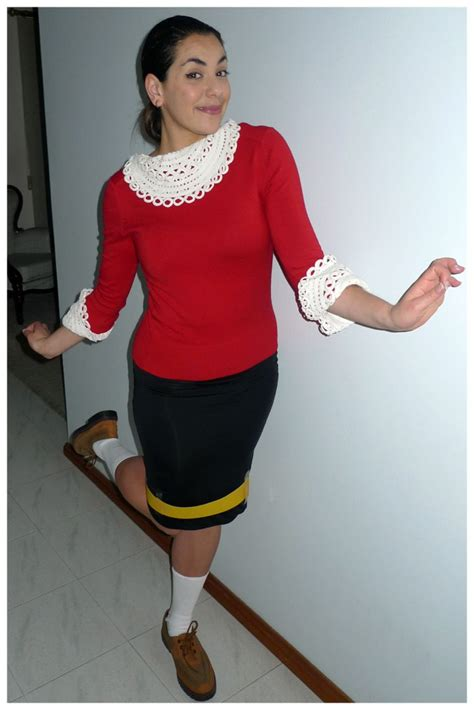 ancient costume theme diy olive olive oyl popeye 35 work appropriate costumes that keep it popsugar smart