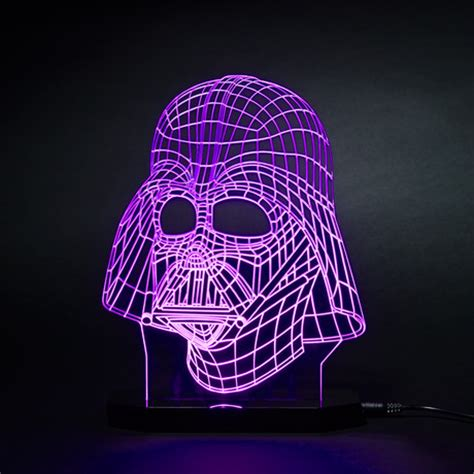beleuchtung millennium falcon wars led ls 3d illusions touch of modern