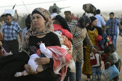 Ts Jihad les kurdes syriens fuient par dizaines de milliers l