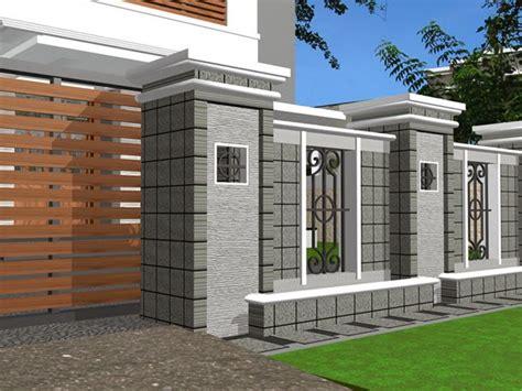 desain lu pagar rumah desain pagar rumah ud aurelia sanjaya devisi solo area