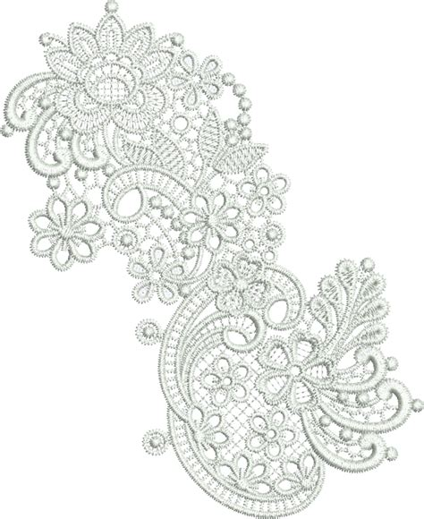 embroidery design lace free 16 free lace border designs images free machine