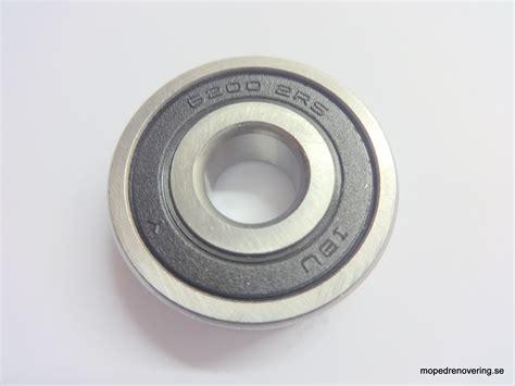 Bearings Bearing 6200 bearing 6200 2rs halvnav ms 50 front and rear