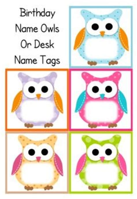 Owl Themed Desk Accessories Best 25 Classroom Birthday Displays Ideas On Pinterest Birthday Chart Classroom Classroom