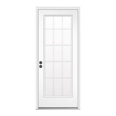 15 Light Exterior Door Enlarged Image