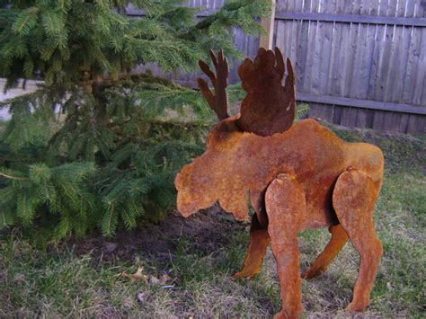 moose lawn ornament landscape design