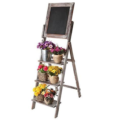 rustic wood easels and shabby chic on pinterest