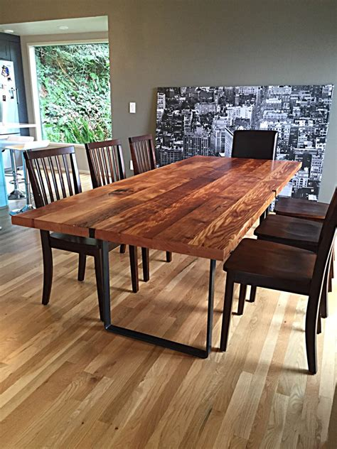 reclaimed kitchen table reclaimed wood table