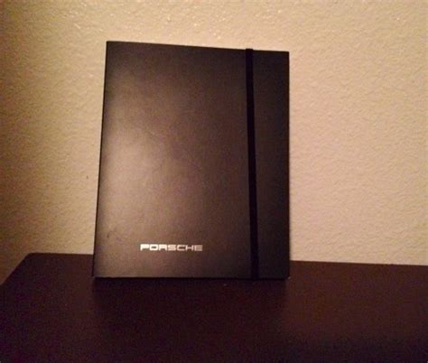 Notebook Giveaway - this porsche notebook is our first giveaway of spring our ride life