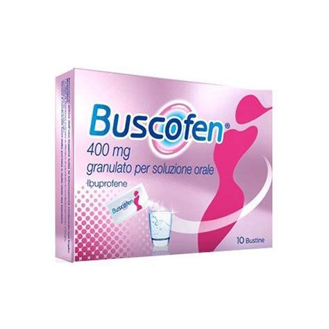 buscofen per mal di testa buscofen granulato 10 bustine 400mg para farmacia