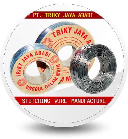 Teh Kotak Per Kardus pt triky jaya abadi jual stitching wire staples kardus