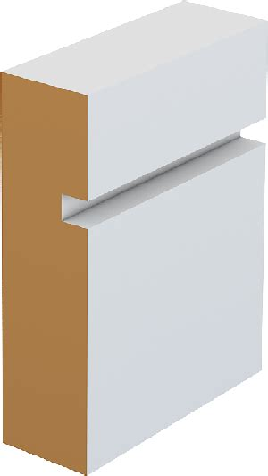 Bor Modern Bor Modern modern contemporary skirting board architrave m45a