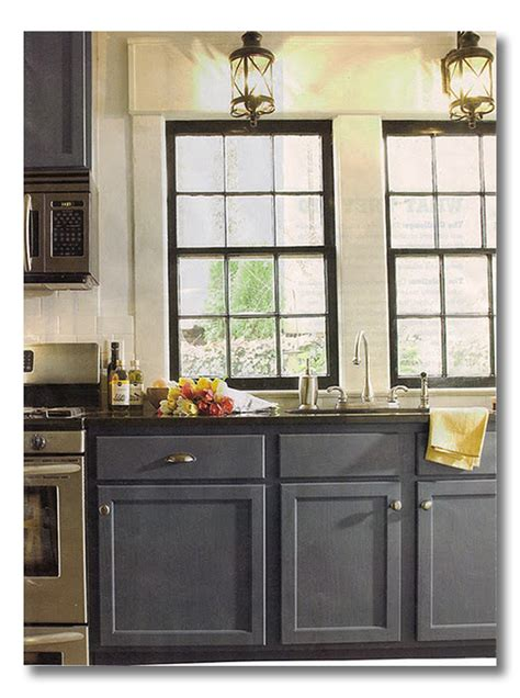 cabinets blue gray fieldstone hill design