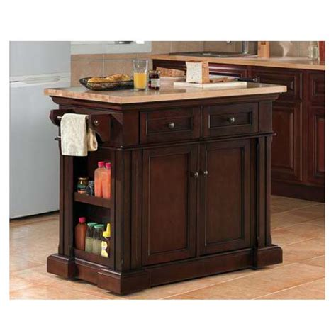 kitchen island cherry object moved