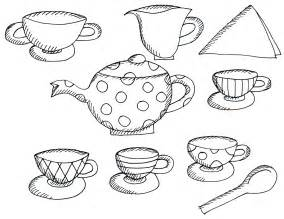 tea coloring pages free coloring pages of tea cup template
