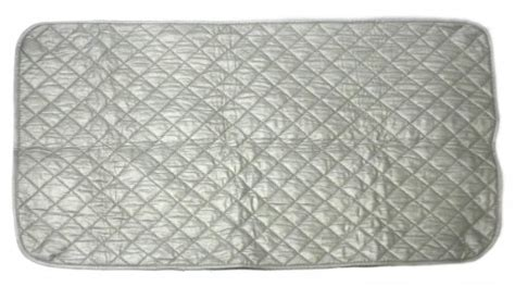 Quilted Ironing Mat by Quot Iron Anywhere Quot Weighted Ironing Mat Quilted Pad Surfac