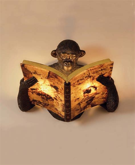 Formal Dining Room Design Monkey Reading A Book Wall Sconce Lampes Pinterest