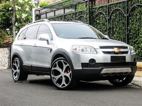 chevrolet captiva modified modifikasi mobil chevrolet captiva