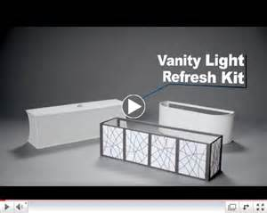 Vanity Lights Kit Vanity Light Refresh Kit 38 Lowes Apartments