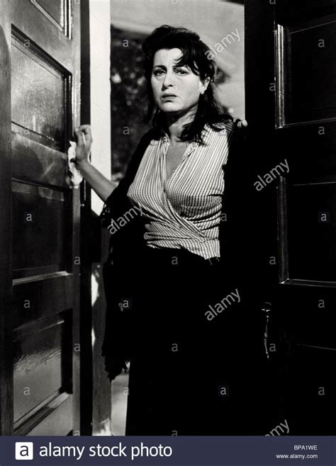 the rose tattoo film magnani the 1955 stock photo 30953818