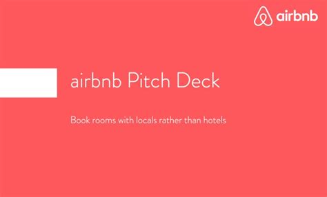 airbnb first pitch deck pitching your startup lessons learned joisig gone awol