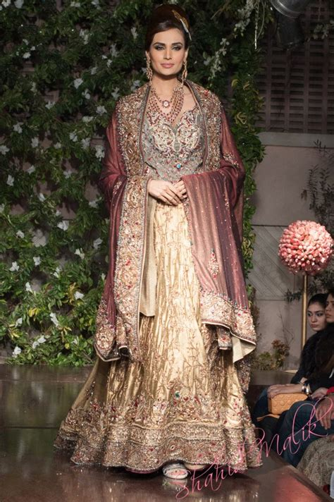 Designer Bridal Wear by Bridal Dresses 2014 For Walima In And White