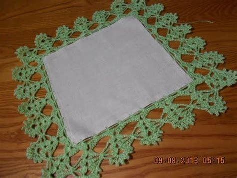orillas para servilletas una vuelta orillas para servilletas de una vuelta imagui