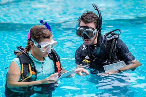 dive instructor dive instructor development course idc koh tao