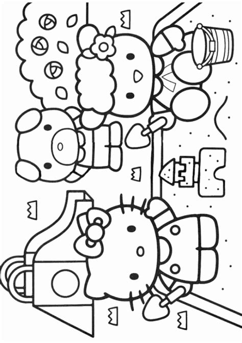 Princess Hello Kitty Coloring Pages Coloring Pages Hello Princess