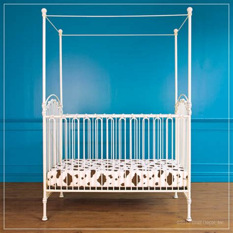 White Iron Cribs by Baby Crib Designer Nursery Luxury Crib
