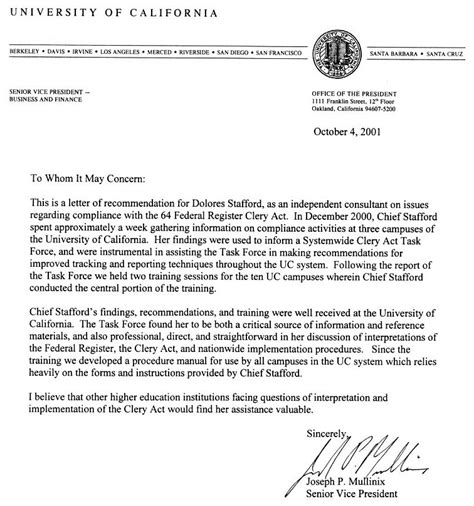 College Letter Of Recommendation From Alumni alumni recommendation letter recommendation letter