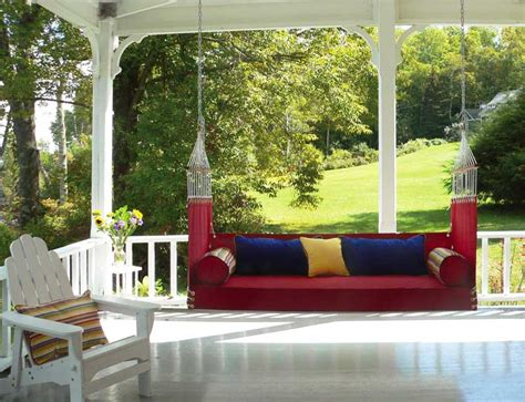 penobscot bay porch swings the best furniture for old house porches patios old