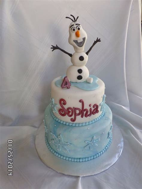 film frozen cake olaf cake from quot sidney s frozen quot movie frozen birthday