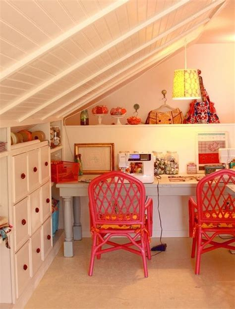 beautiful craft rooms beautiful use of attic space attic ideas