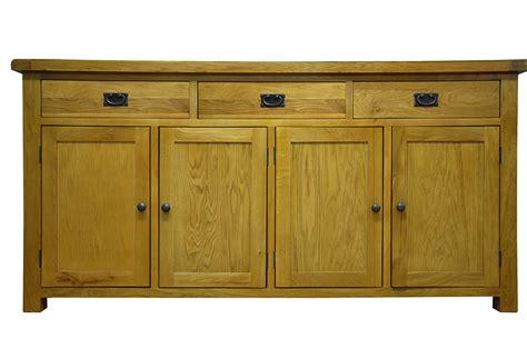 4 Door Oak Sideboard galloway oak 4 door sideboard glenross furniture