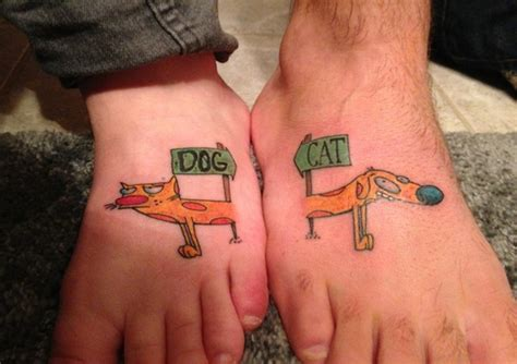 funny matching tattoos 40 forever matching ideas for best friends