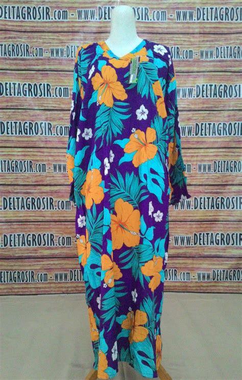 Daster Klok Serut By Kencana Ungu gudang baju daster batik katun murah gudangdaster