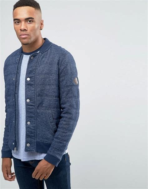 Hollister Quilted Jacket by Hollister Hollister Quilted Bomber Jacket Button Front