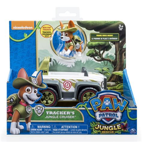 tracker jeep paw patrol spin master paw patrol tracker s jungle cruiser