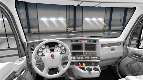 kenworth truck interior white kenworth t680 interior for truck simulator