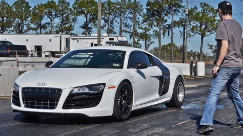 Tt Audi R8 by Speedriven Audi R8 V10 Tt Blasts 1 4 Mile Record