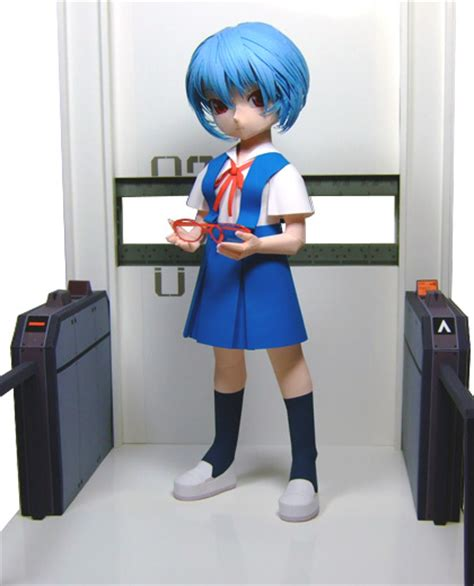 Papercraft Figures - anime papercraft figures