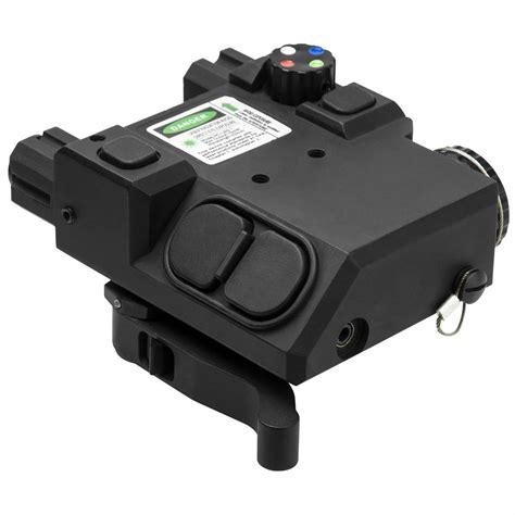 green laser light combo for ar 15 ncstar green laser and 4 color navigation led lights combo