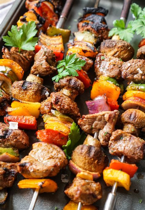 lamb shish kebab recipe marinated lamb kebabs marinated grilled lamb or steak shish kabobs