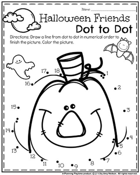 halloween coloring pages pre k free halloween worksheets for pre k kumon math