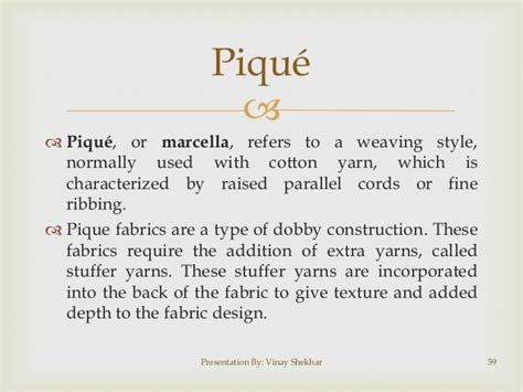 pique knit definition fabric for retail staff