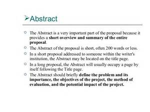 sample abstract for thesis proposal business proposal writing thesis abstract sample typepad