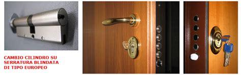 cambiare cilindro porta blindata cambiare la serratura della porta blindata serratura