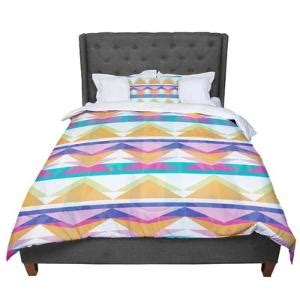 triangle pattern comforter geometric triangle pattern by design des troy