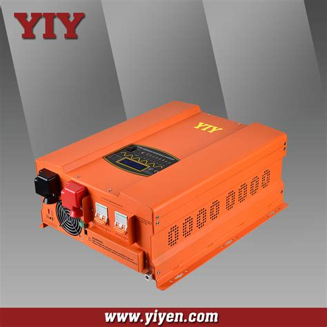 Ac Jendela inverter 5000 w 12 v 220 v inverter dengan baterai charger