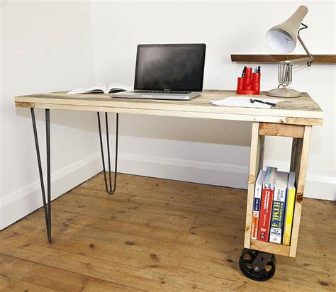 Office Desk Industrial Design Industrial Office Desk By Swinging Monkey Furniture Design